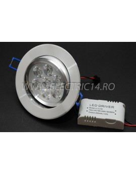 Spot Led Power 7w Lumina Rece