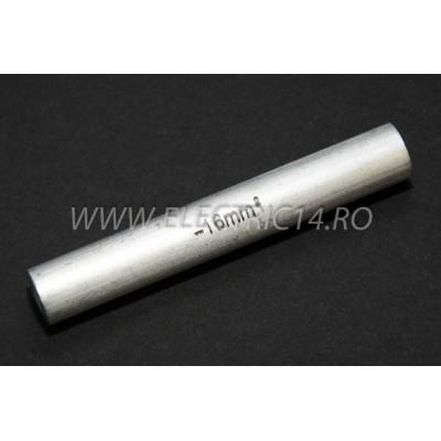 Conector Aluminiu 16mm