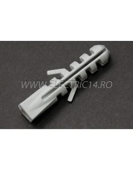 Diblu Pvc Patrat 8 mm Set-100 bucati CLEME - COLIERE - DIBLURI