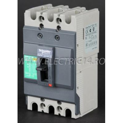 Intrerupator Automat 63A EZC100N3063 Scheinder