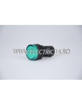 Lampa semnalizare 22mm verde AUTOMATIZARI
