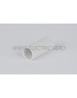Mufa teava PVC 11 mm, set 50 buc