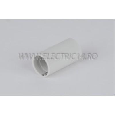 Mufa teava PVC 13 mm, set 50 buc