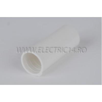 Mufa teava PVC 16 mm, set 50 buc