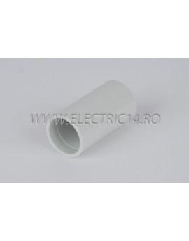 Mufa teava PVC 18 mm, set 50 buc