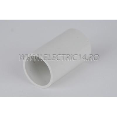 Mufa teava PVC 25 mm, set 20 buc