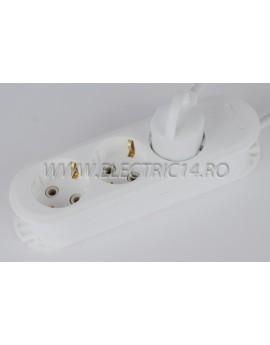 Prelungitor schuko 3 posturi-10 m (EL)
