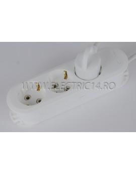 Prelungitor schuko 3 posturi- 2 m (EL)