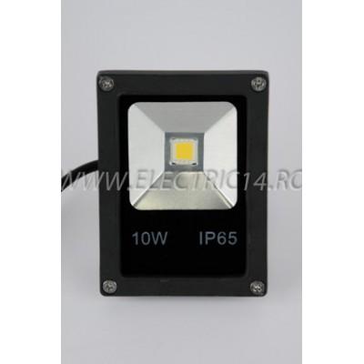 Proiector Led 10w Slim Lumina Calda
