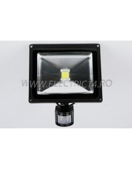 Proiector Led 30w Senzor  Lumina Rece