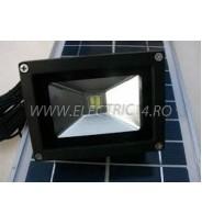 Proiector Led 2w Panou Solar  Lumina Rece