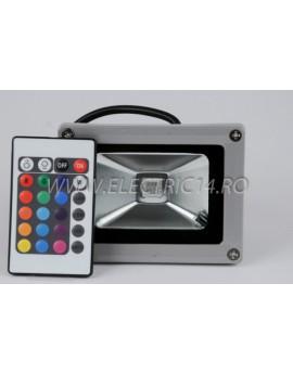 Proiector Led 10w RGB  cu telecomanda