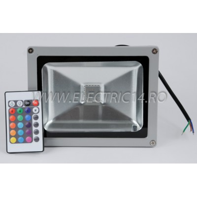 Proiector Led 20w RGB  cu telecomanda