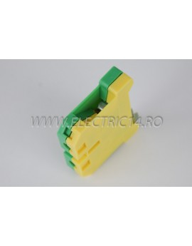 Clema Sina 16 mm verde-galben