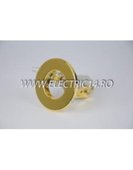 Spot incastrabil E14 R39 auriu 8101