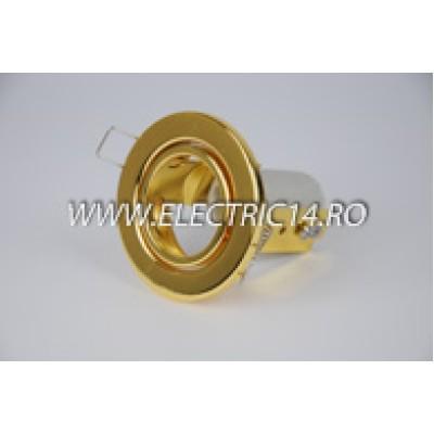 Spot incastrabil E14 R39 Mobil auriu 8101-1