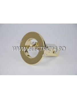 Spot incastrabil E14 R50 auriu 8102