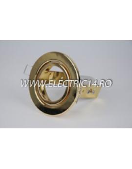 Spot incastrabil E14 R50 Mobil auriu 8117