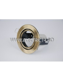 Spot incastrabil E14 R50 Mobil  brass antique RR