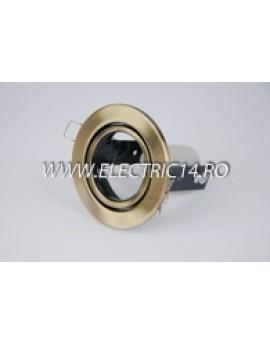Spot incastrabil E14 R50 Mobil  brass antique RR