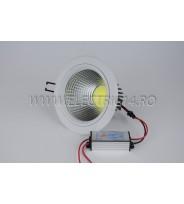 Spot Led 10w Lumina Rece (4/H4008C)
