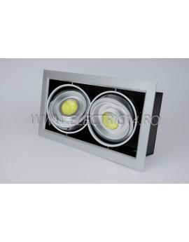 Spot Led 2x10w Lumina Calda (DD) SPOTURI LED
