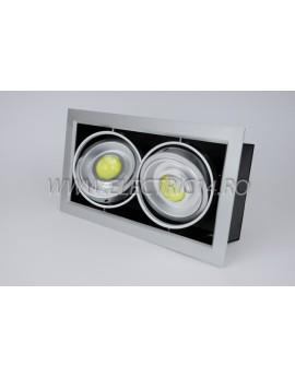 Spot Led 2x10w Lumina Rece (DD) SPOTURI LED