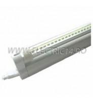 Tub Led T5+Suport 120cm 12w Clar Lumina Calda