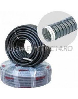 Copex metalic cu izolatie de pvc 26 mm, rola-25 ml