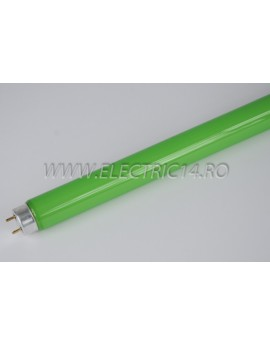 Tub Neon T8 18w Verde Lohuis