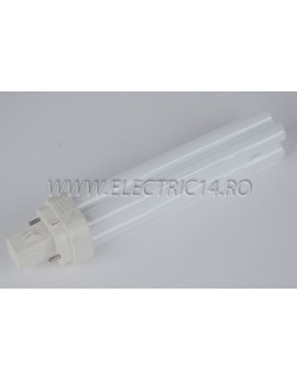 Tub Neon PLC G24 13w/830-2 pini Philips
