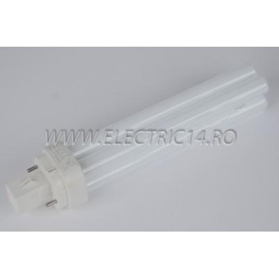Tub Neon PLC G24 13w/830-2 pini Philips