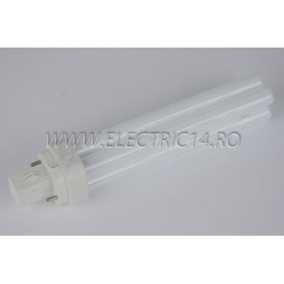 Tub Neon PLC G24 18w/830-2 pini Philips
