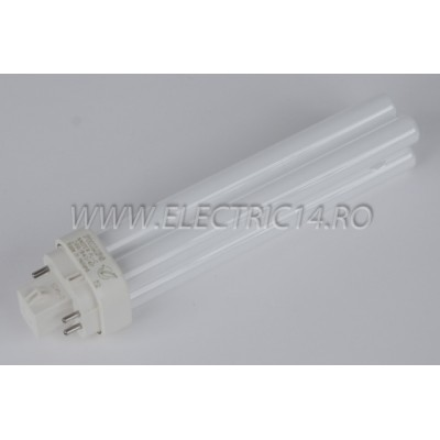 Tub Neon PLC G24 18w/830-4 pini Philips