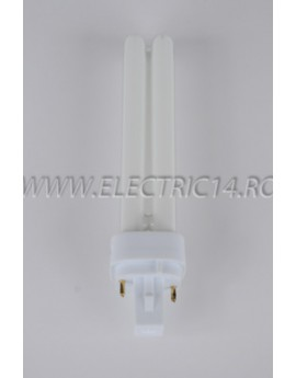 Tub Neon PLC G24 18w/2700-2 pini Moon