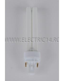 Tub Neon PLC G24 18w/2700-4 pini Moon