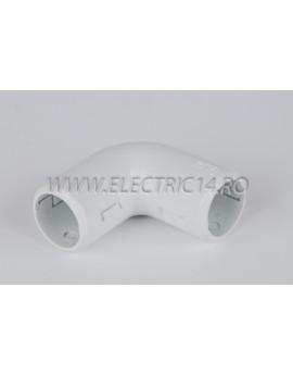 Unghi teava PVC 16 mm Set-10bucati