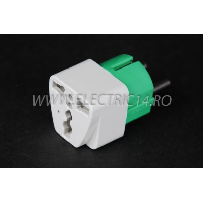 Adaptor Priza Universal Color