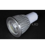 Bec led MR16 5w COB SMD Lumina Calda