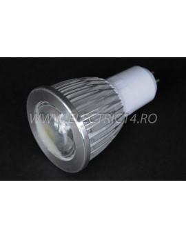Bec led MR16 5w COB SMD Lumina Calda